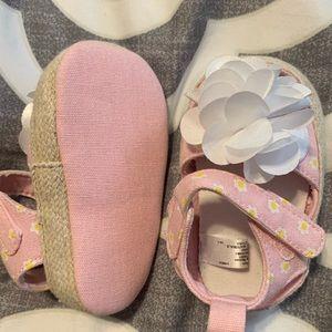 Other - Baby soft walker floral strap Sandals